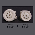 JFW4 - Truck Tire with Wheel Combo