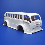 NB331 - 1950's White Bus
